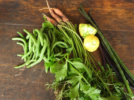 Some of the veggies that went in the curry #organic