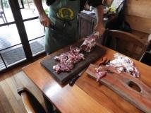 Butchering the ram