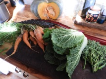Veggies for the slow cooked pork and veggie recipe #organic #natural