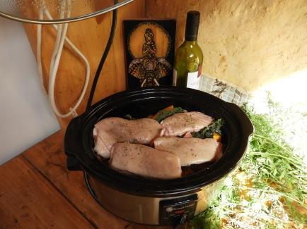 Slow cooked pork and veggies #organic #crueltyfree #delicious