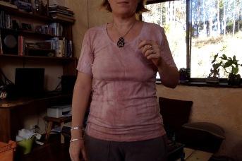 Dusty pink shirt I dyed last week
